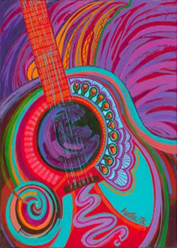 Gemstone Guitar