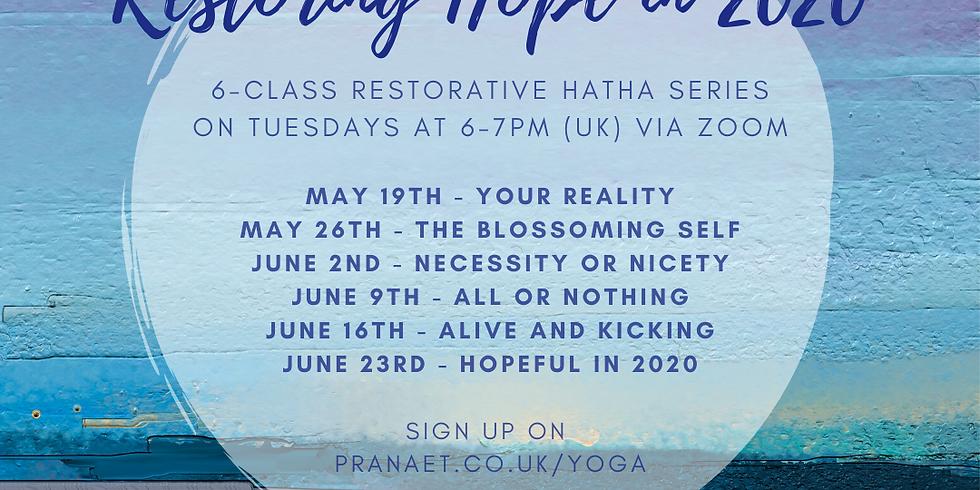 Restoring Hope with Hatha Yoga (1)