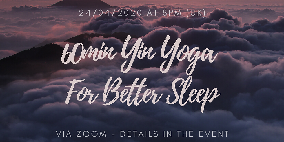 Yin Yoga For Better Sleep