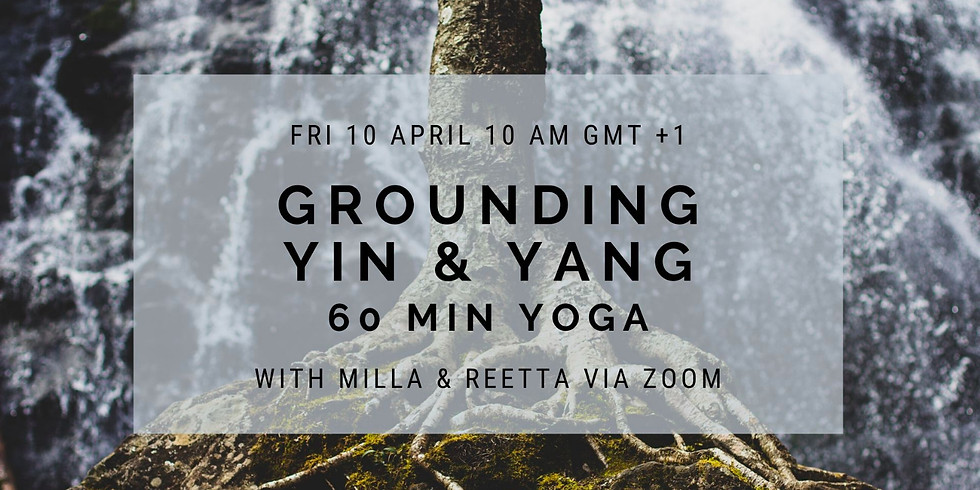Grounding Yin & Yang Yoga