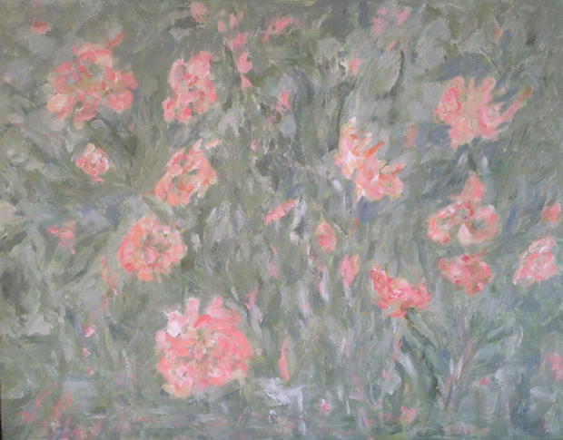 Impression I, Acrylic on canvas,  76cm x 60cm