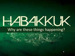 Habakkuk's First Complaint