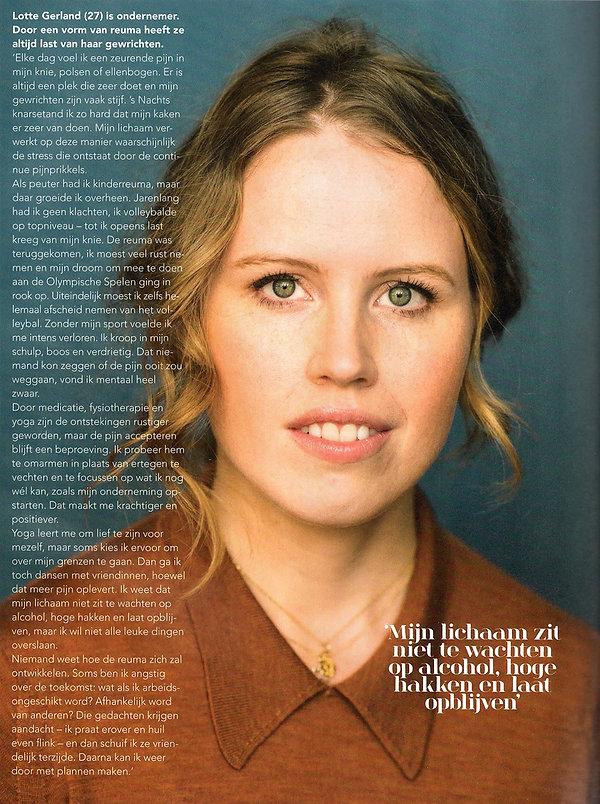 Artikel Psychologie Magazine - maart 201