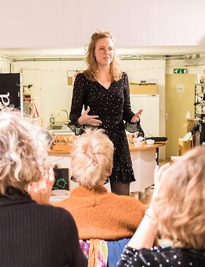 Lotte de Vries Spoken Word Groningen Ele