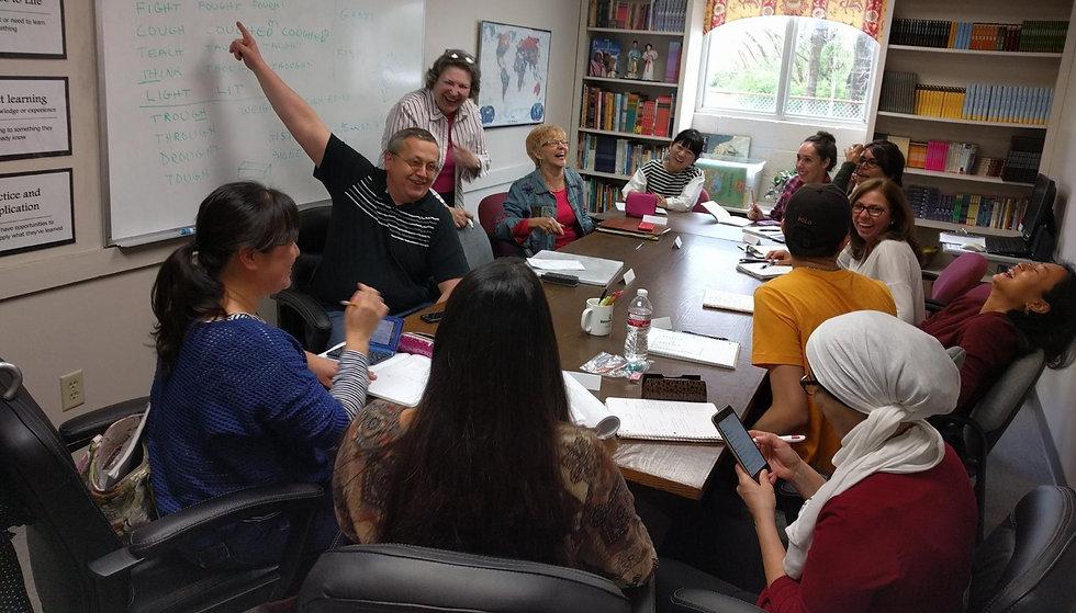 Language learners joyfully learn English in Memphis