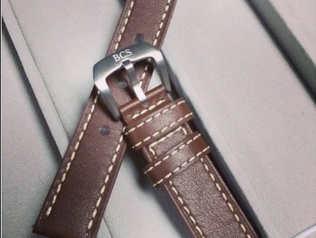 How to care for your leather watch straps.
