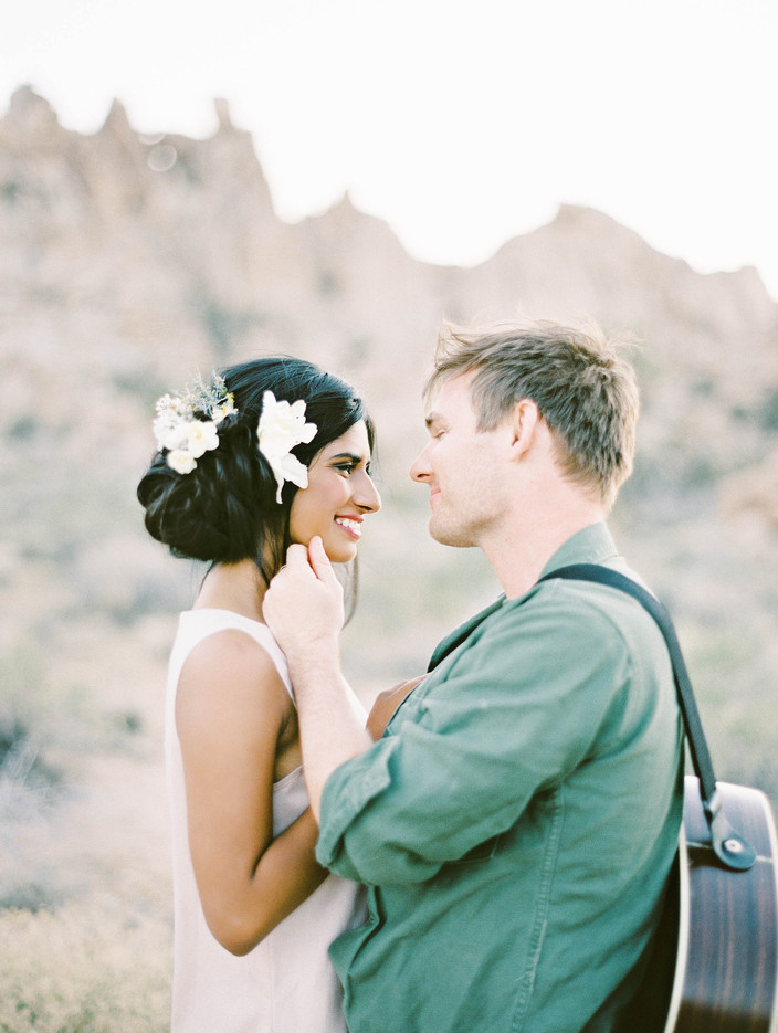 LR Photography | Gorgeous Elopement Inspiration in Joshua Tree, CA