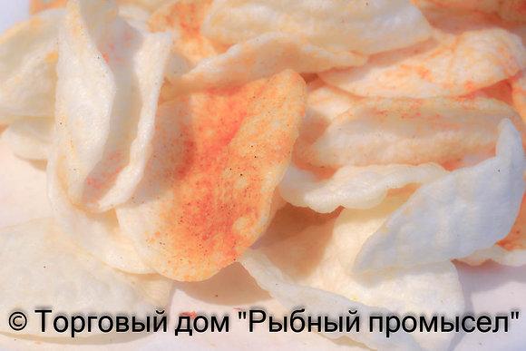 Чипсы рифленые