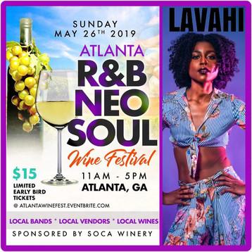 ATLANTA R&B Neo-Soul Wine Festival