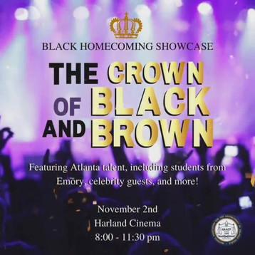 Emory's Black Homecoming Showcase