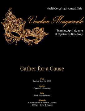 HealthCorps' Annual Garden Gala