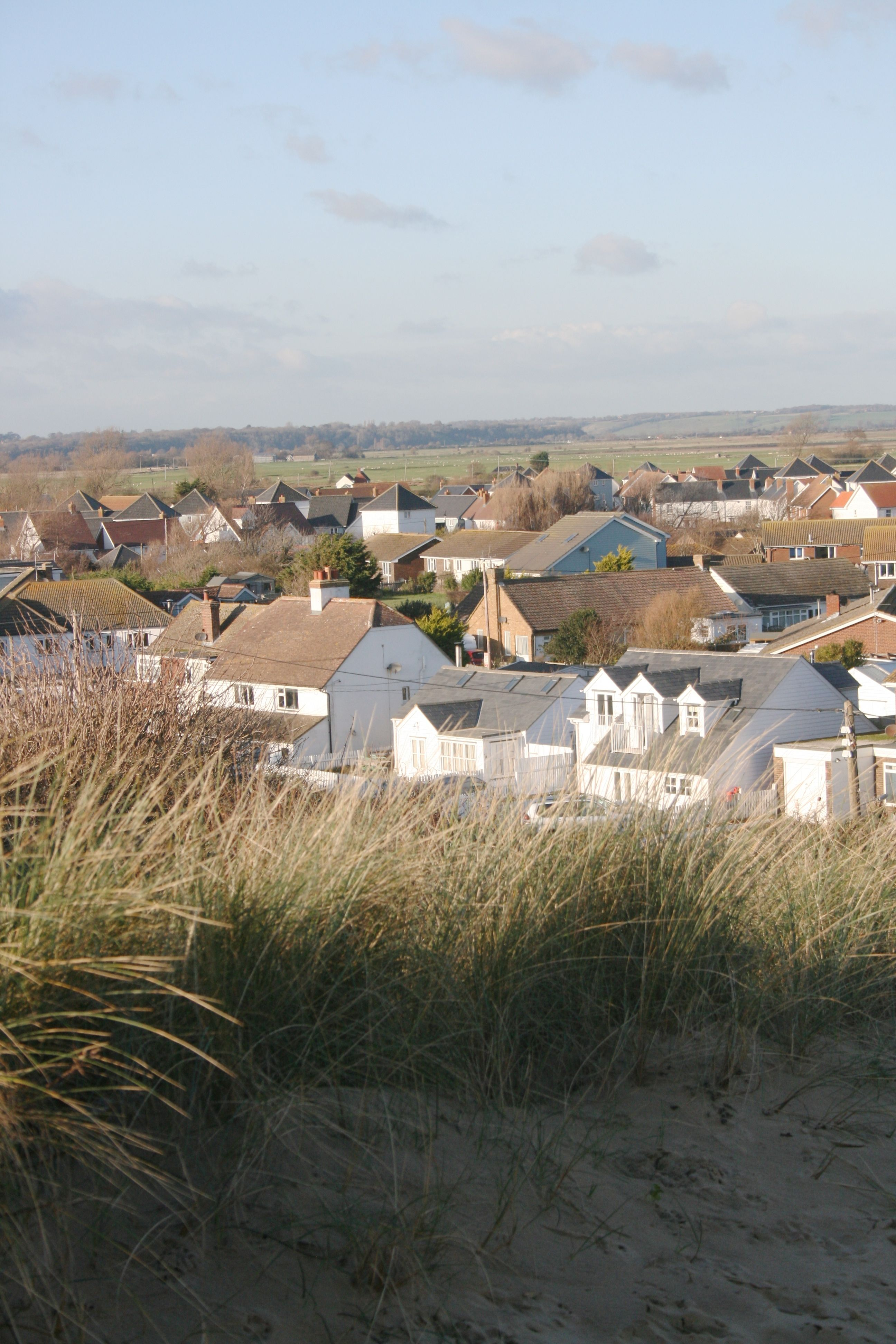 House from dunes