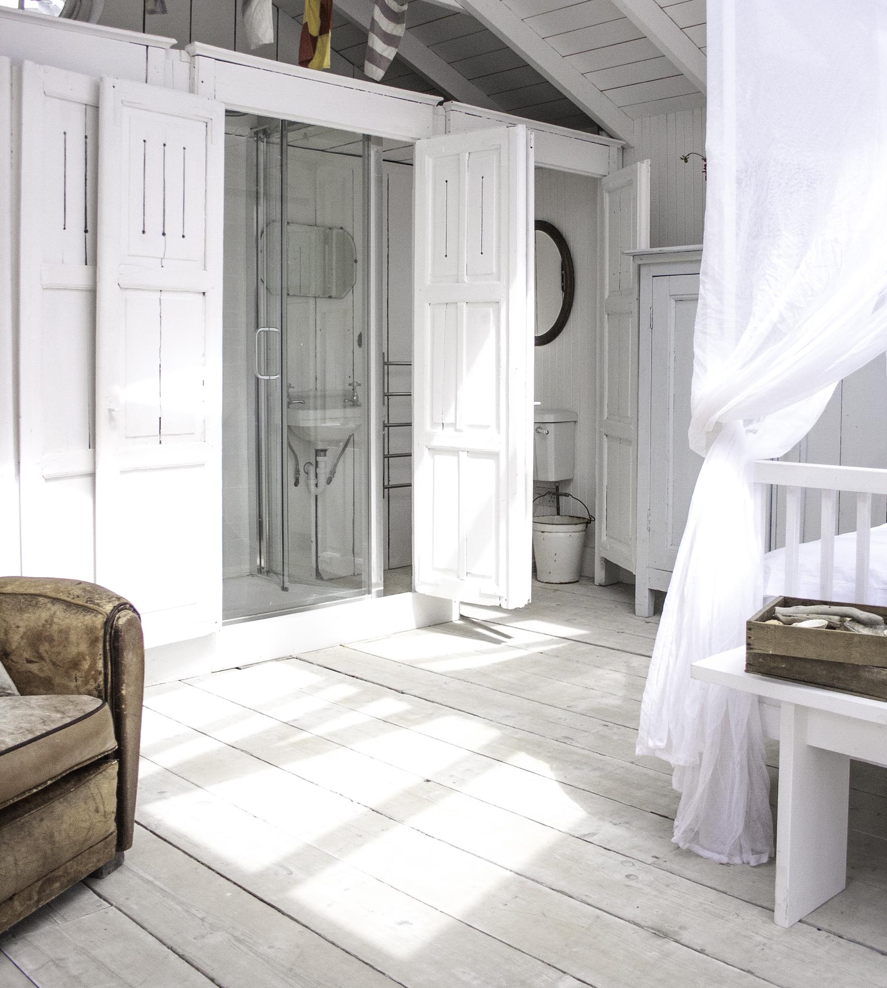 Bathroom in cabin