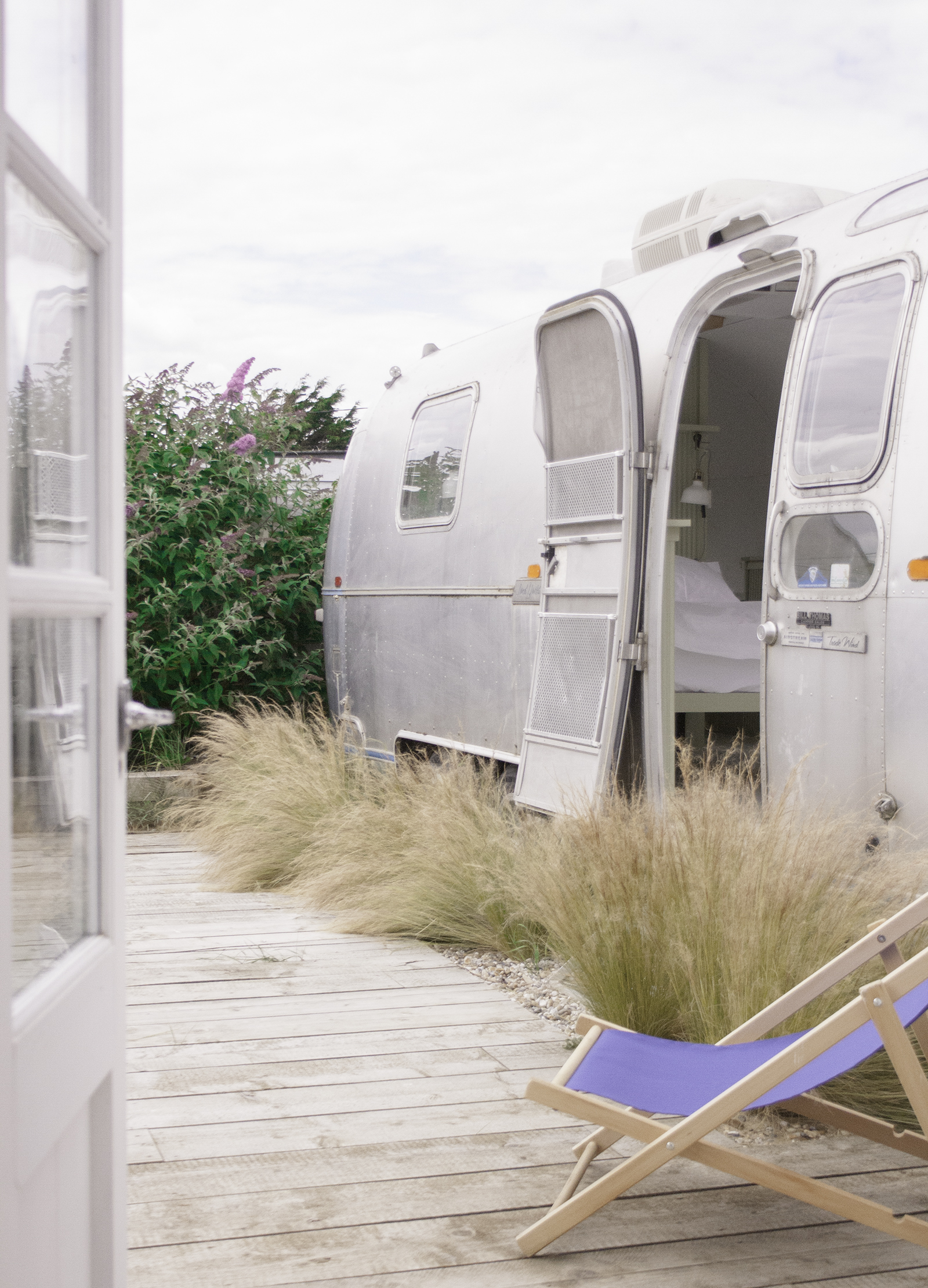 Airstream from cabin