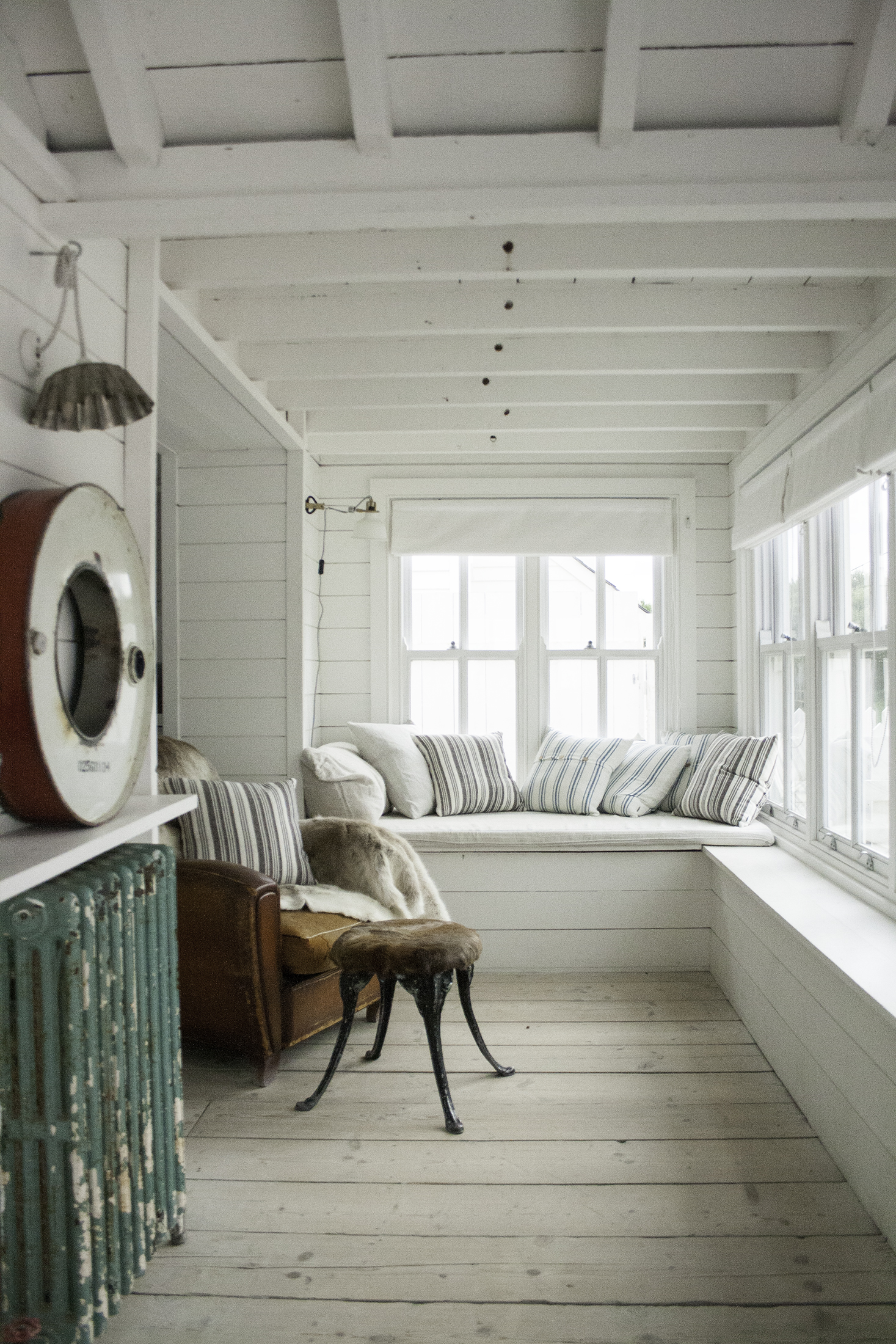 Window seat and armchair