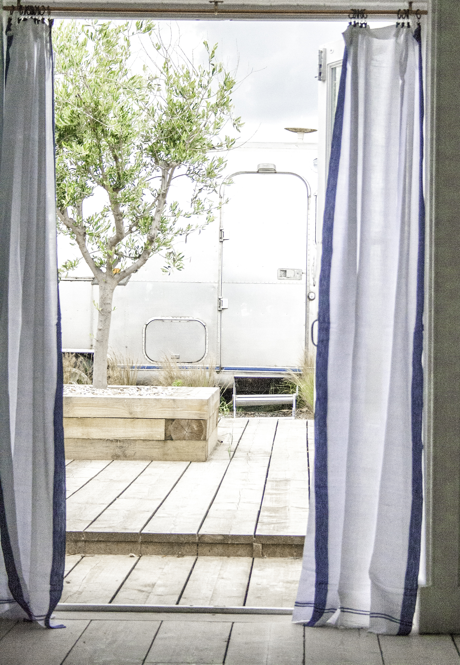 Curtains & Airstream