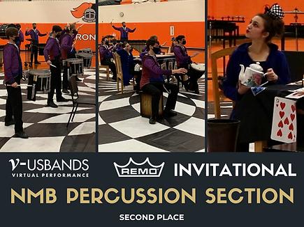 Percussion Ensemble - USBands Remo Invit