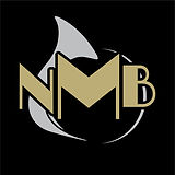 NMB Logo Simple on Black - without pride