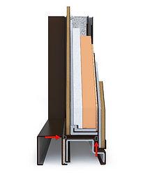 Притвор металлической термодвери