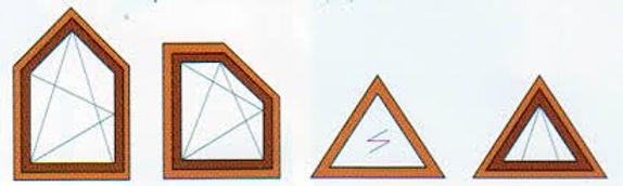 виды треуголных окон