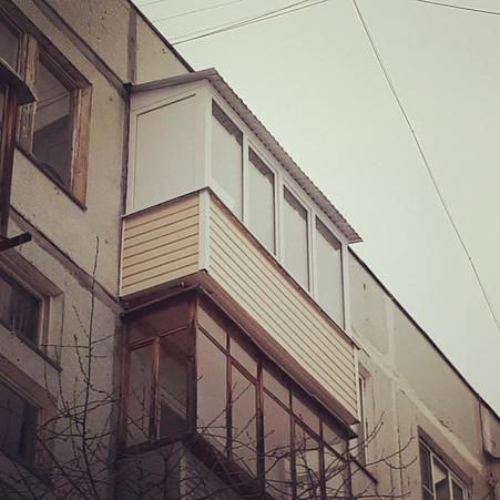 Переделка балкона