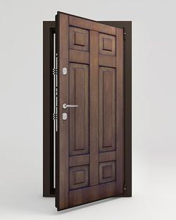 металлические двери TERMOWOOD