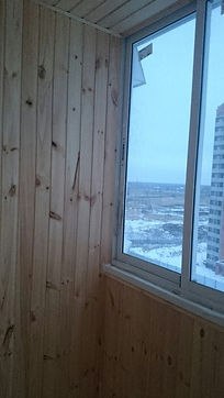 отделка балкона и лоджии серпухов