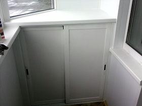 Шкафы на балконе от компании ОКНА Серпухов