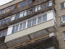сайдинг на балконе серпухов
