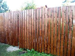 заказать забор из дерева в серпухове