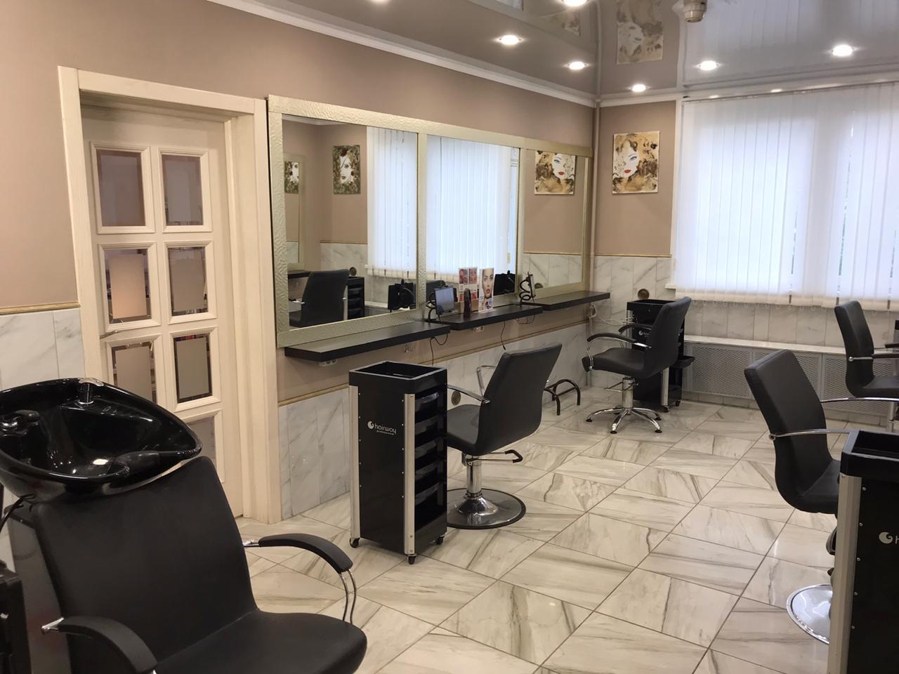 Парикмахерский зал первый
