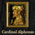 Portrait of His Eminence the Cardinal Alphonso
