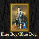 Blue Boy with Blue Dog