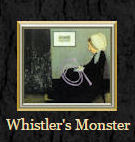 Whistler's Monster (Derangement in Grey and Black)