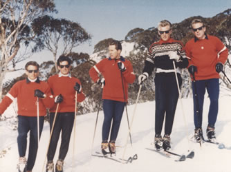 Thredbo ski school 1960