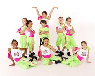 Kids Hip Hop class at Spotlight Dance Center