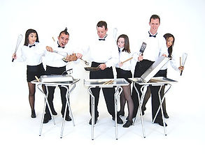 Stomp Style drummers, Food Service Romp