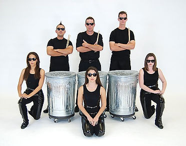 Stomp Style Drummers & Dancers