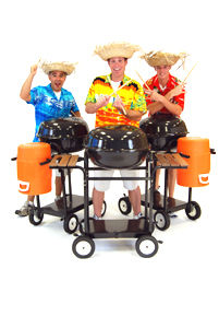 Stomp Style drummers, BBQ beat