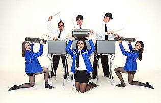 Stomp Style drummers & dancers, Briefcase Brigade