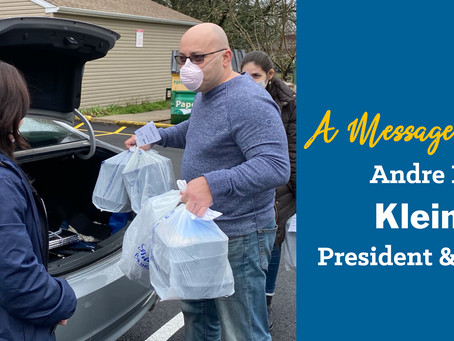 Monthly Recap of KleinLife from President & CEO, Andre Krug