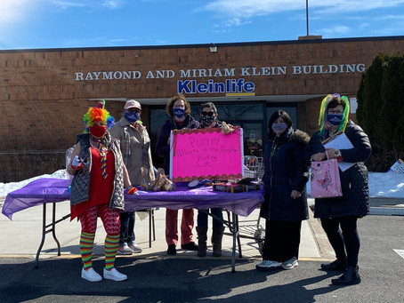 Purim in the Parking Lot