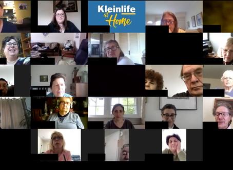 Seniors Gather for Virtual Town Hall Meeting