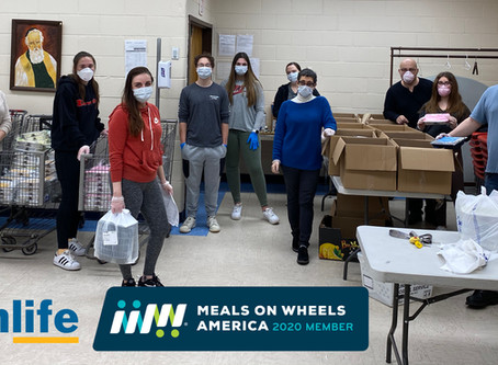KleinLife Receives $75K Grant from Meals on Wheels America's COVID-19 Response Fund