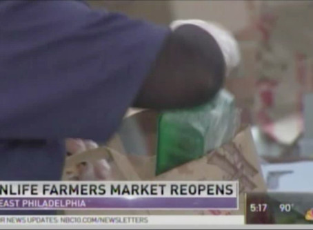 NBC10 Features KleinLife's Farmers' Market