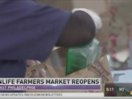 NBC10 Features KleinLife's Farmers' Market