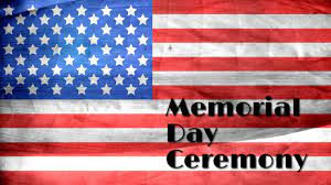 Memorial Day Service set for Monday