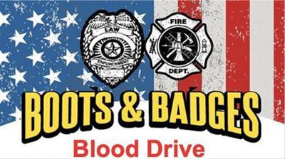 Boots & Badges blood drive July 29 in Sallisaw
