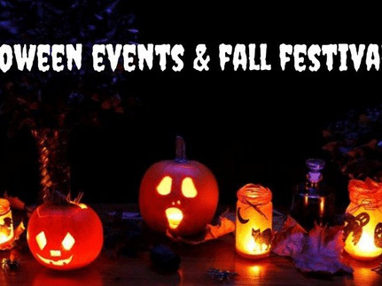 Halloween events and fall festivals