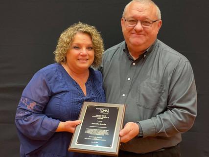Sallisaw City Clerk Dianna Davis Recognized by Oklahoma Municipal Alliance
